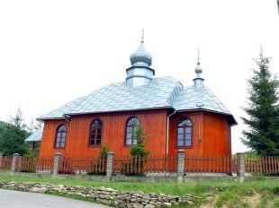 Bodaki, cerkiew prawosławna z 1934r.