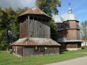 Budynin - cerkiew i dzwonnica fot.2012