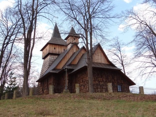 Bukowiec, kościół w dawnej cerkwi z Kamiannej. Fot. Jerzy Opioła, Wikmedia Commons, 2015r.