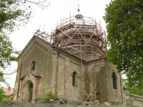 Trwa remont kopuły. maj 2013r.