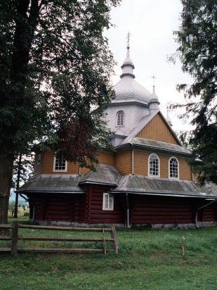 Cerkiew prawosławna z 1938r. w Gładyszowie
