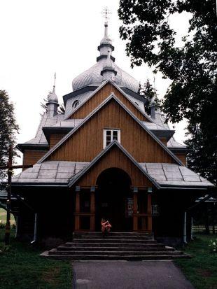 Cerkiew w Gładyszowie z 1938r.
