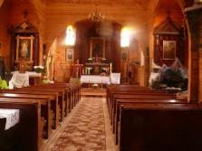 Hoszów - wnętrze cerkwi (2011r.)