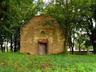 Nagorzany, ruina cerkwi (2011r.)