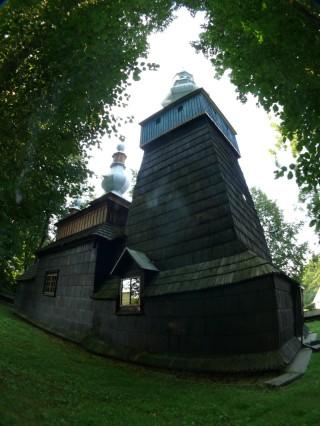 Cerkiew greckokatolicka w Bielance, lato 2012r.