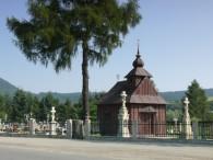 Uście Ruskie - kaplica cmentarna