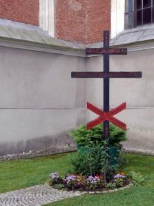 krzyż upamiętniający akcję Wisła