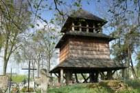 dzwonnica z Teniatysk na cmentarzu w Lubyczy Królewskiej