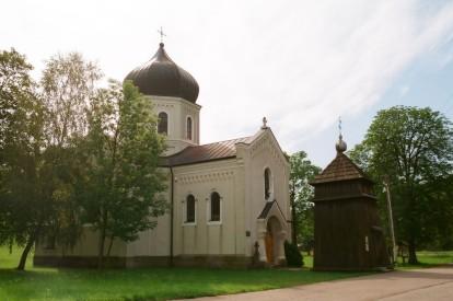 Pętna, cerkiew gr.k. z 1916r.