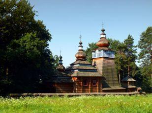 Cerkiew z Ropek (obecnie w MBL w Sanoku)