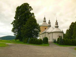 Dawna cerkiew w Tylawie, 2012r.