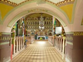 cerkiew w Jaworkach - wnętrze