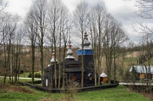 Cerkiew greckokatolicka w Bielance, 2015r.