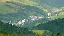 widok na wieś Szlachtowa