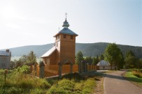 Regietów (Regetów) - nowa cerkiew z 2012r.; fot.2014