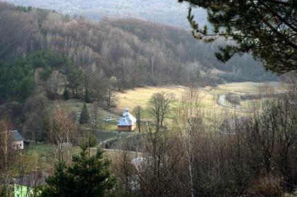 Olchowiec, 2015r. - widok na osadę...