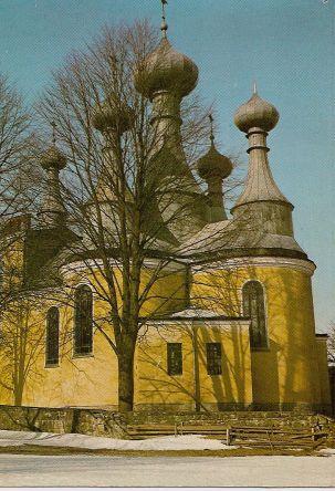 Nieistniejąca cerkiew w Klimkówce, wyburzona w 1983r. źródło: http://www.ropa.iap.pl
