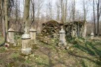 Królik Wołoski, cmentarz przycerkiewny, fot. 2015r.
