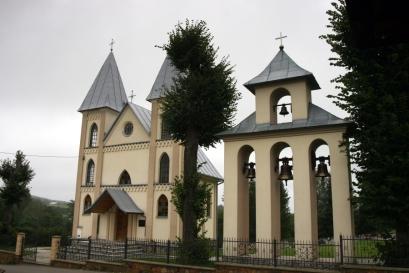 kościół w Myczkowie